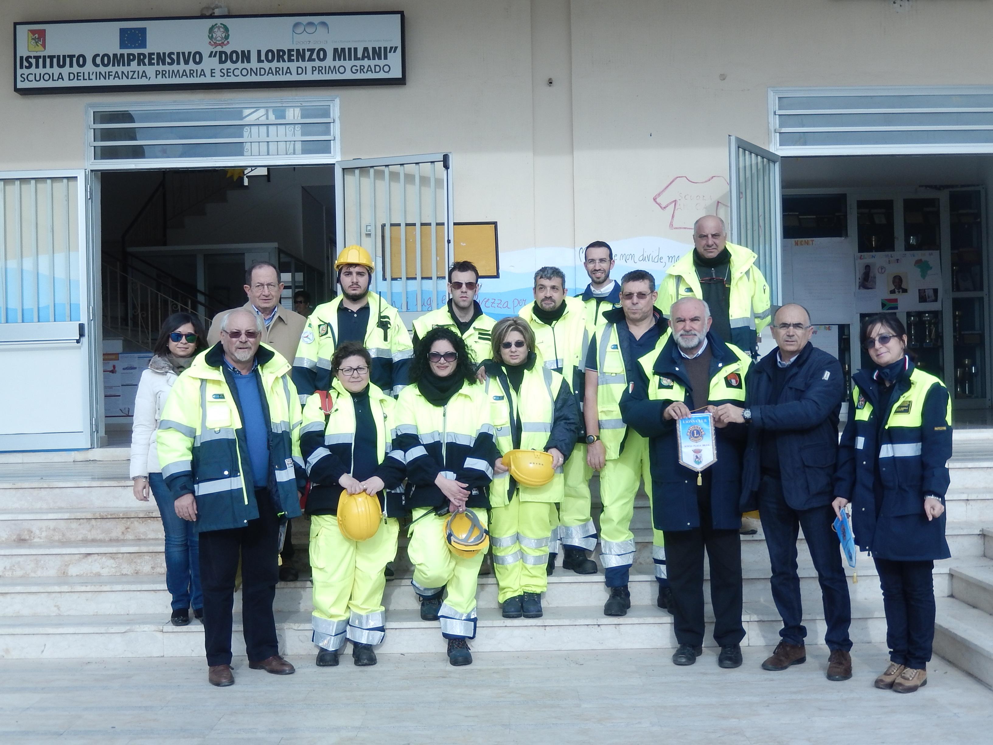 il gruppo di protezione civile