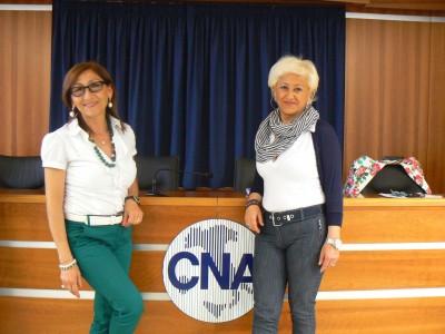 Antonella Caldarera e Maria Carmela Modica Belviglio 1