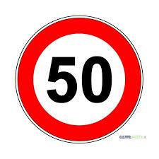 50 km orari limite