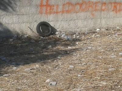 Piazzetta Nicholas Green i rifiuti