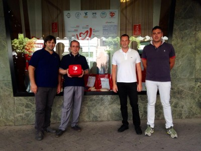 Giuseppe Occhipinti, don Giorgio Occhipinti, Alessandro Blundo e Mario Chiavola