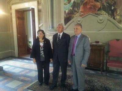 Ambasciatore di Palestina in Italia, il Prefetto e Vice Ministro