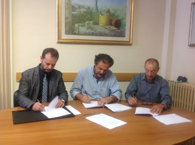 Da destra - Cucuzzella,Dimartino, Iannucci