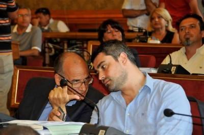 Giorgio Massari e Mario D'Asta