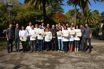 consegna diplomi II edizione Cuochi (1)