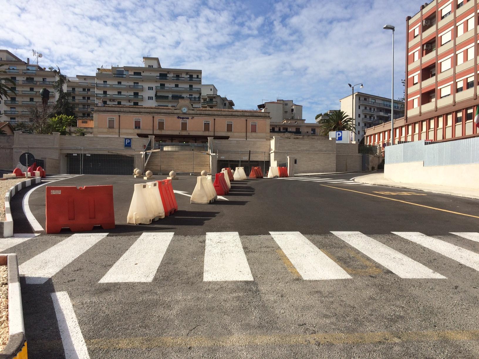 Il parcheggio di piazza del Popolo