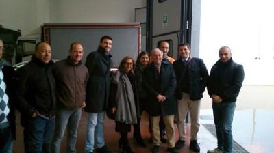 La visita alla zona artigianale di Ragusa (1)