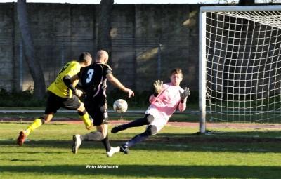 New Team Ragusa Bonarrigo in goal
