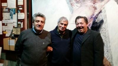 Rosario Sprovieri, Ennio Calabria e Amedeo Fusco