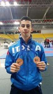 premiazione 2 medaglie