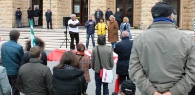 Manifestazione cgil,cisl,uil contro legge Fornero (2)