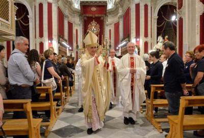 San Giorgio 2016 la benedizione del vescovo