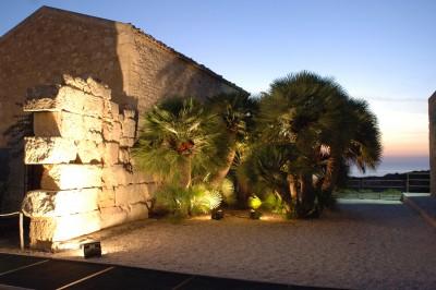 museo - muro del tempio al crepuscolo