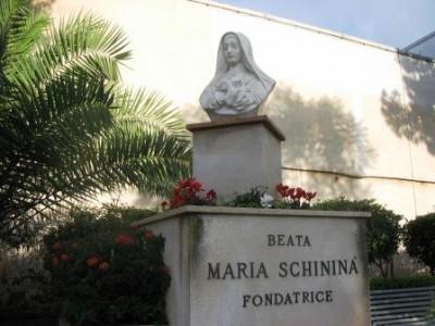 Il busto della beata Maria Schininà