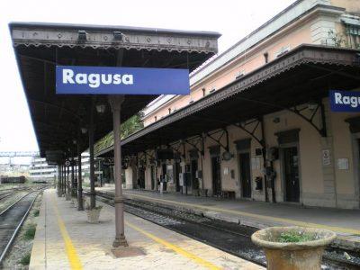 La stazione ferroviaria di Ragusa