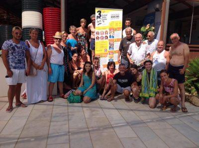 La compagnia Caf di Aci Catena a Caucana