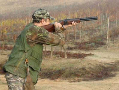 cacciatore in tiro