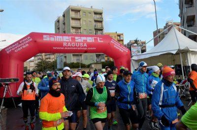 Maratona 2017 la partenza della maratona