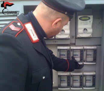 Scoglitti (RG) Carabinieri arresti furto energia elettrica