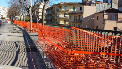 Lavori in viale Colajanni seconda foto