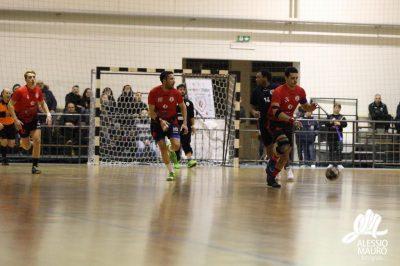 Un momento della gara contro il Palermo