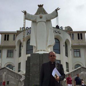 Don Occhipinti al santuario di Fatima in Portogallo