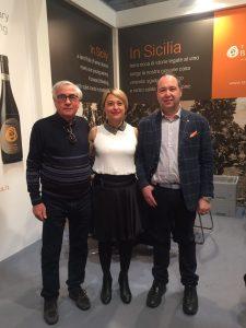 Giuseppe Arezzo, Silvana Raniolo e Giovanni Calcaterra a Verona