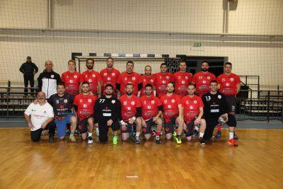Il gruppo dell'Andrea Licitra Pallamano Ragusa