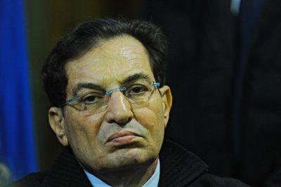 Il presidente della Regione Sicilia Rosario Crocetta al ventesimo vertice antimafia, all'Antico Spedale del Bigallo, Bagno a Ripoli (Firenze), 21 novembre 2014. ANSA/ MAURIZIO DEGL'INNOCENTI
