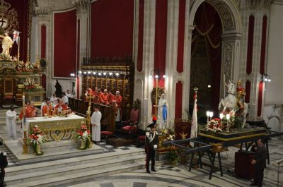 San Giorgio la celebrazione della solennità liturgica