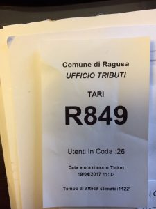 ticket ufficio tributi