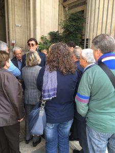 Calabrese e i residenti di contrada Nave a palazzo di Città altra foto