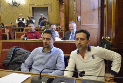 I consiglieri comunali del Pd Mario D'Asta e Mario Chiavola