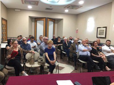 La riunione tenutasi all'hotel Kroma
