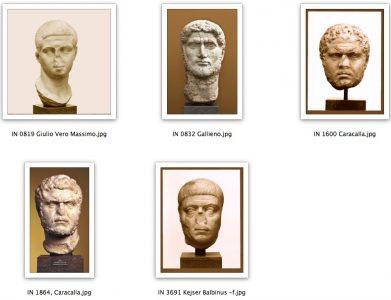 Ritratti Imperatori a Camarina