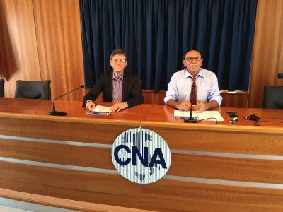 Il segretario Brancati e il presidente Santocono