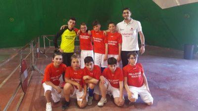 L'Under 12 allenata da Giorgio Raniolo