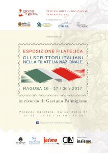 Locandina -Esposizione Filatelica Ragusa