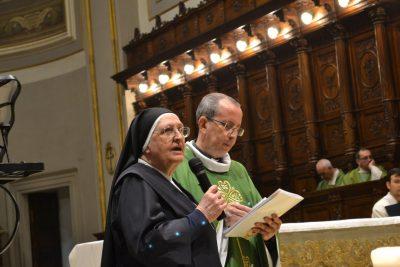 Suor Cherubina Battaglia e don Giorgio Occhipinti
