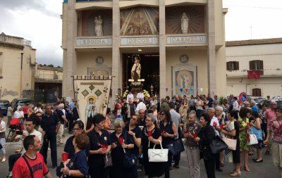 Madonna del Carmine il momento dell'uscita 2017