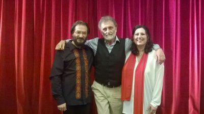 Vittorio Bonaccorso, Federica Bisegna e Massimo Venturiello
