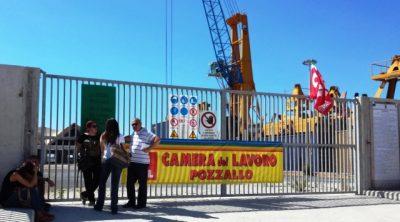presidio sindacale stazione passeggeri Pozzallo (1)