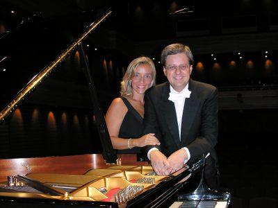 Elvira Foti e Roberto Metro